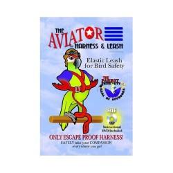 Pettorina Aviator per pappagalli