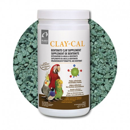 Hari Clay-Cal Supplement integratore minerali per pappagalli ed uccelli