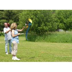 Aviator Fligt Line permette il volo dei pappagalli