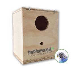 Nido in legno per Cocorite