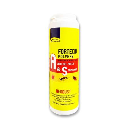 Fortecid Polvere - Insetticida per Acaro Rosso ed insetti striscianti