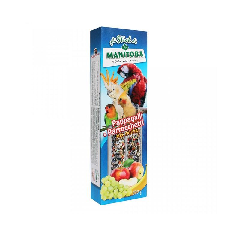 Stick Mix Frutta per Parrocchetti e Pappagalli