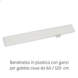 Bandinella in plastica per gabbia da 120 cm