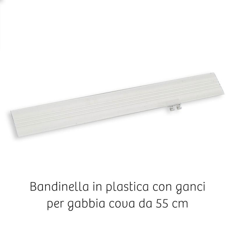 Bandinella in plastica per gabbia da 55 cm
