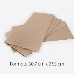 Carta Bulinata - Formato  50,7X27,5 per gabbia cova da 55 con cassetto in plastica
