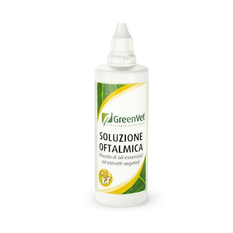 Soluzione Oftalmica GreenVet - Preparato naturale per l'infiammazione agli occhi