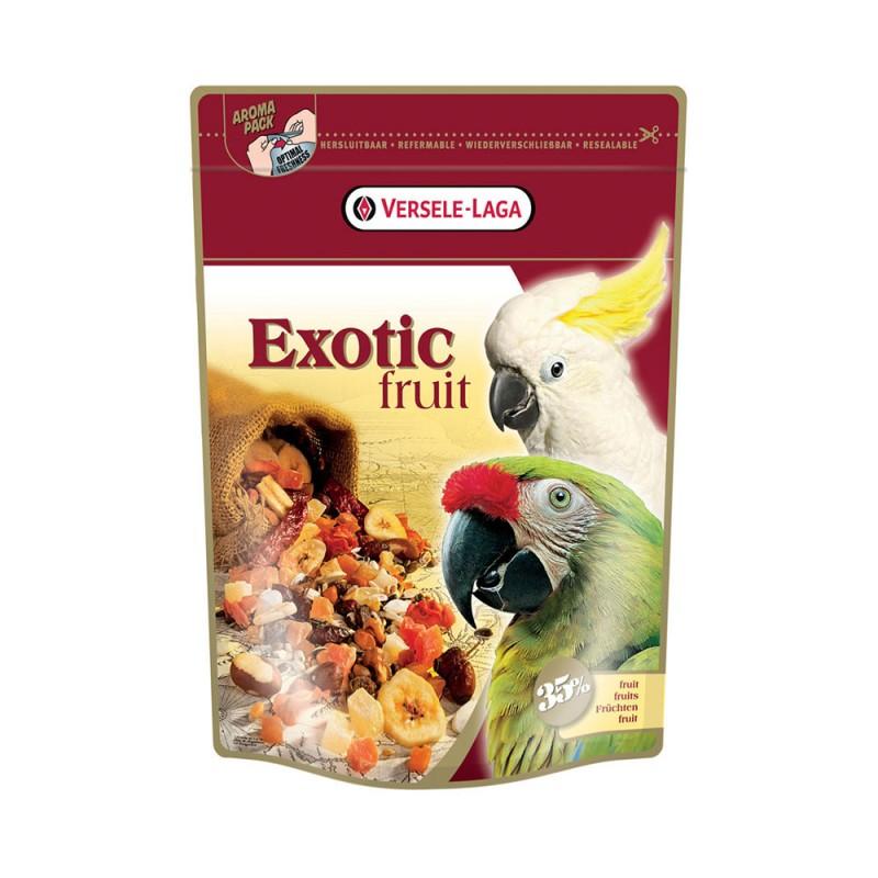 Exotic Fruit Versele Laga - Miscela Semi, Cereali e Frutta Essiccata per Pappagalli