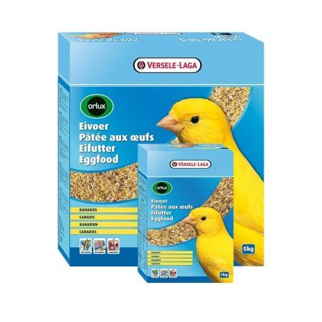 Orlux Allevamento Secco - Pastoncino giallo all'uovo per canarini
