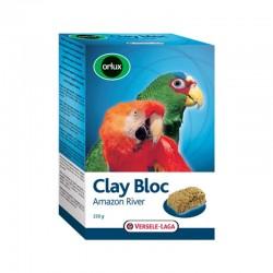 Orlux Clay Bloc Amazon River - Blocco minerale per grandi parrocchetti e pappagalli