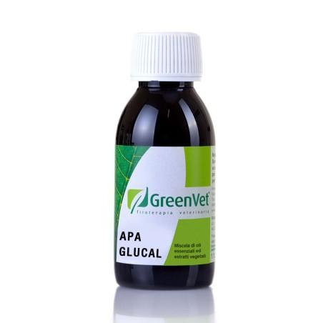 Apa Glucal Green Vet - Calcio gluconato per uccelli, pappagalli, colombi e avicoli