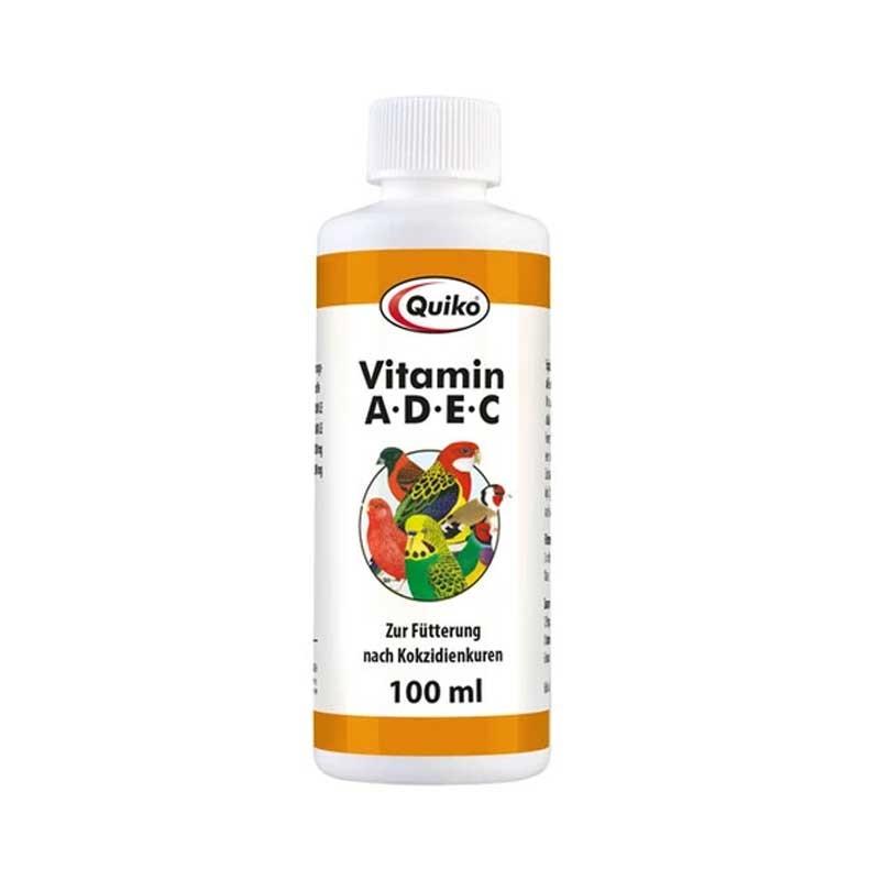 Quiko Vitamina A-D-E-C - Vitamine per il canto e la riproduzione degli uccelli