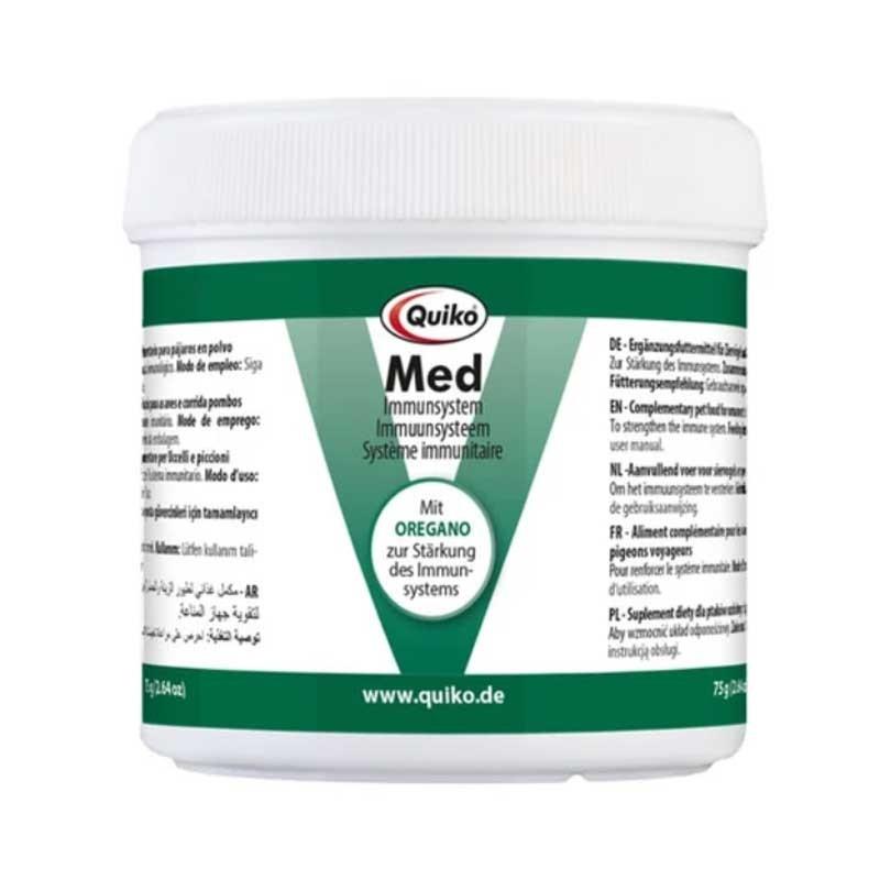 Quiko Med in polvere - Curativo e Omeopatico per uccelli domestici