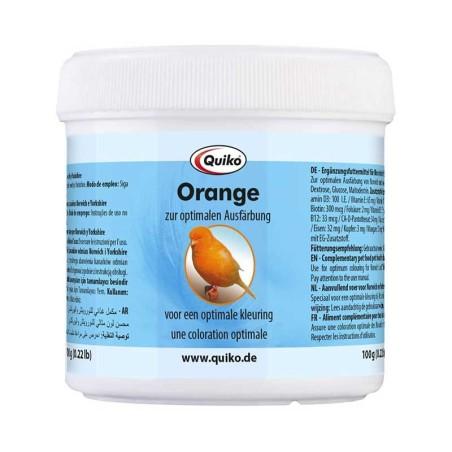 Quiko Orange - Colorante arancione per canarini inglesi come Norwich e Yorkshire