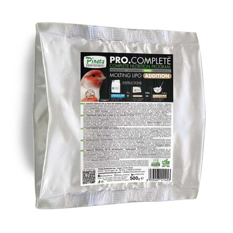 Pro Complete Muta Lipo Addition - Integrazione per il periodo della muta canarini di colore