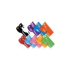 Anellini in plastica D 3 mm - numerati da 0 a 9