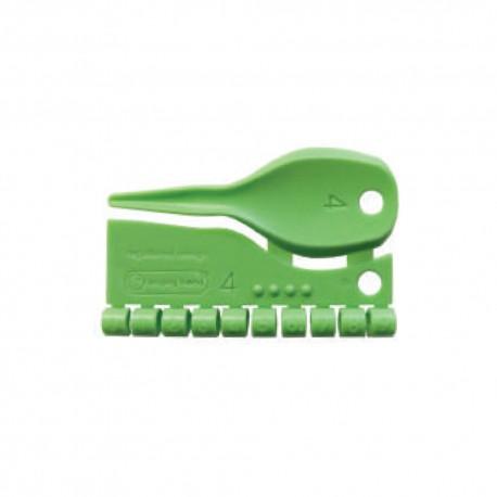 Anellini in plastica D 4 mm - numerati da 0 a 9