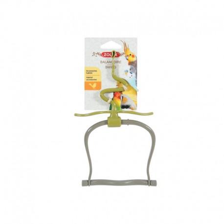 Altalena in plastica con foglie - Zolux