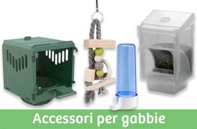 Accesori per gabbie